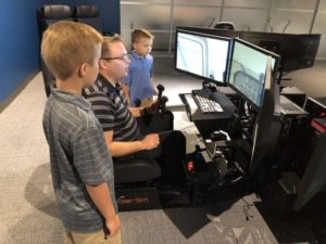 Try out our Flight Simulators!
